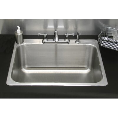 kitchen sink picture a line by advance tabco 30 25 quot x 24 25 quot single drop in 2820