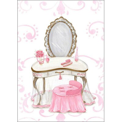 Little Princess Vanity by Kris Langenberg Canvas Art by Oopsy Daisy