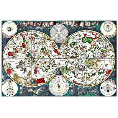 "iCanvas ""Star- Zodiac Chart"" Canvas Wall Art by Frederik Wit"