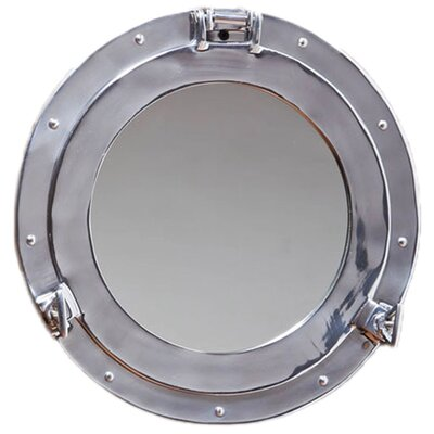 Porthole Wall Mirror by Cape Craftsmen