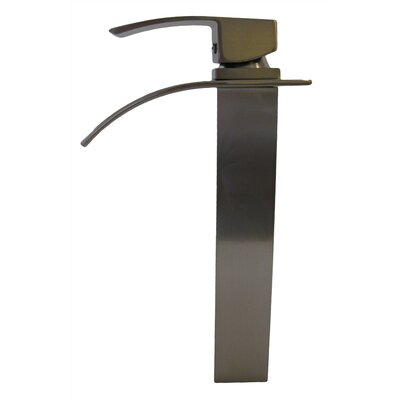 Waterfall Handle Single Hole Deck Vessel Faucet Product Photo