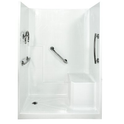 Freedom Low Threshold System 3 Panels Shower Wall Product Photo