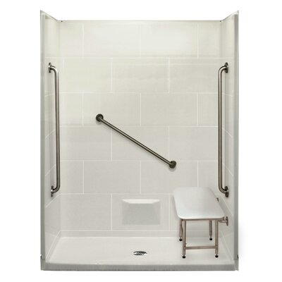 Plus 36 5 Piece Rectangular Shower Kit Product Photo