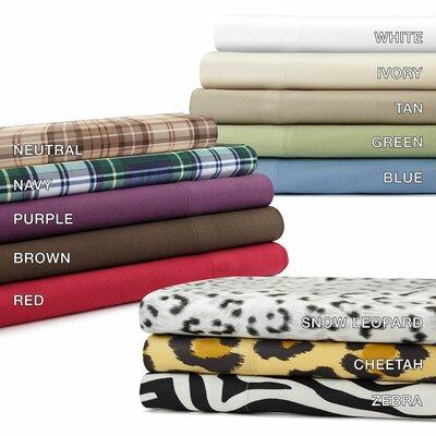 Softspun Solid Sheet Set by Premier Comfort