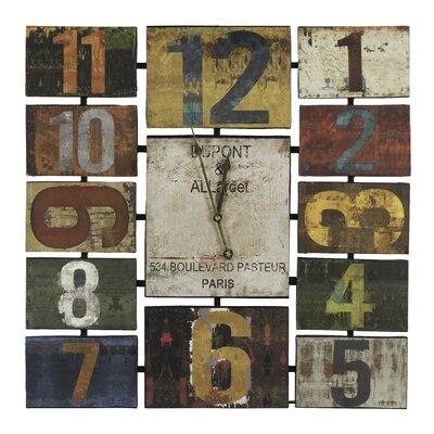 Cooper Classics Herschel Wall Clock