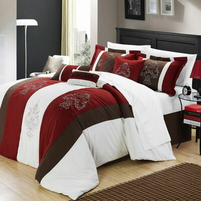 Vicky 8 Piece Comforter Set by Chic Home