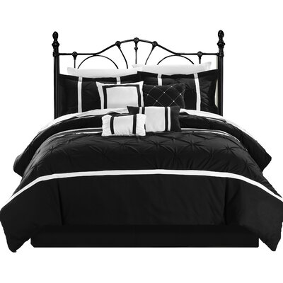 Vermont 8 Piece Comforter Set by Chic Home