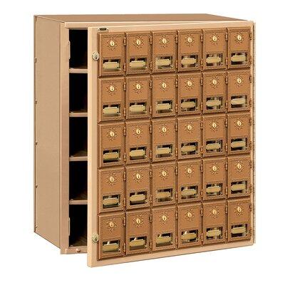 Salsbury Industries 30 Door Front Loading Mailbox
