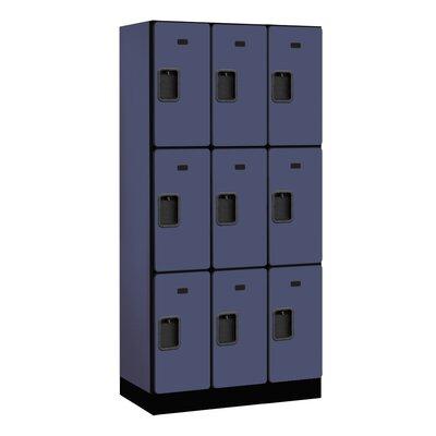 Salsbury Industries 3 Tier 3 Wide Designer Locker