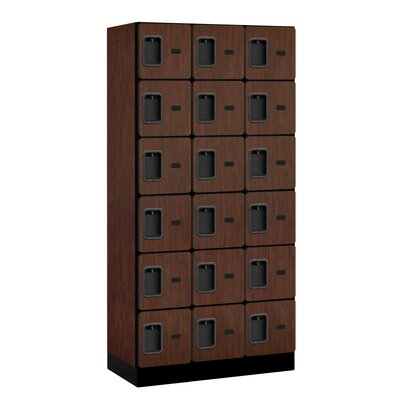 Salsbury Industries 6 Tier 3 Wide Designer Box Locker