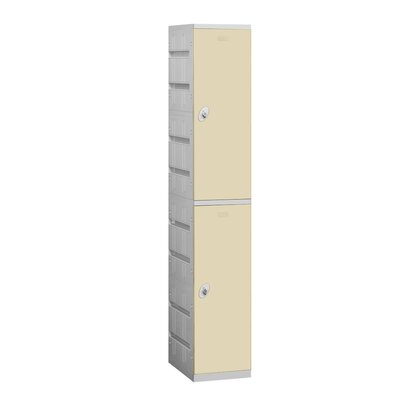 Salsbury Industries Unassembled Double Tier 1 Wide Locker