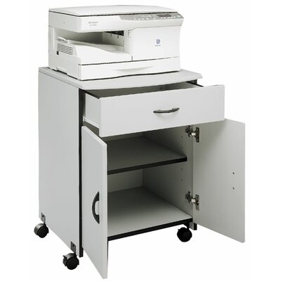 Buddy Products Laser Printer Stand with Drawer