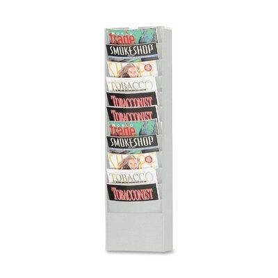 Buddy Products 11 Pocket Curved Pocket Rack