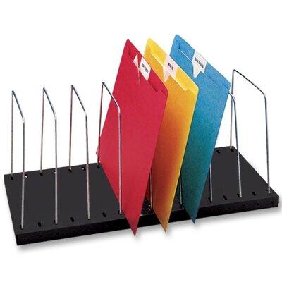 "Buddy Products Wire Organizer, 8-Section, 18-1/2""x8""x7-3/4"", Black"