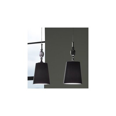 Kiev 1-Circuit Mini Pendant with Clear Fount Product Photo