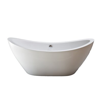 "Seneca 65"" x 31"" Soaking Bathtub Product Photo"