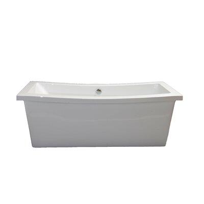 """Klamath 67"""" x 33"""" Soaking Bathtub Product Photo"""