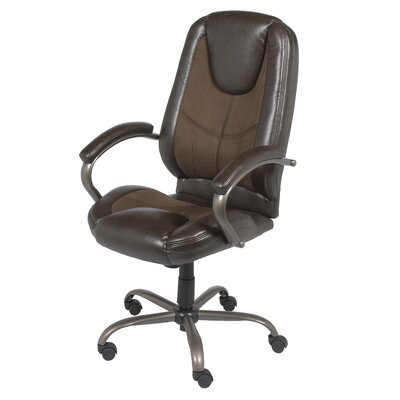 Z-Line Designs Mid-Back Leather Manager Chair
