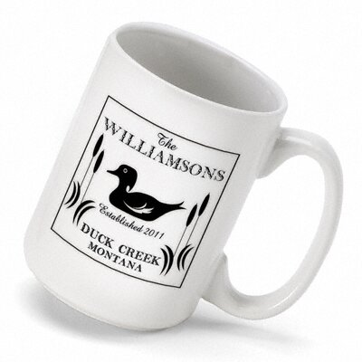 JDS Personalized Gifts Personalized Gift Cabin Series Duck Coffee Mug