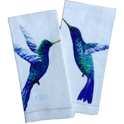 My Island Hummingbird Tea Towels