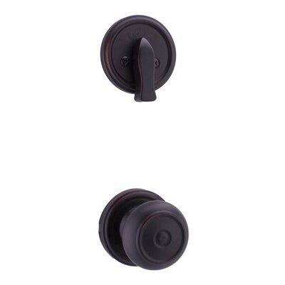 Weslock Lexington / Oval Single Cylinder Entrance Knobset