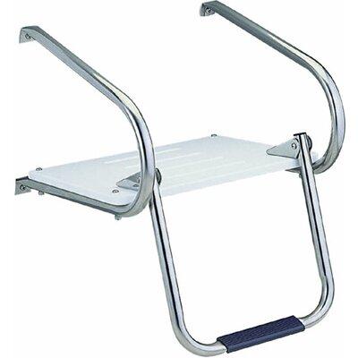 Garelick MFG. Company Swim Platform with Fold Down Ladder