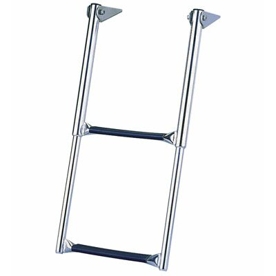 Garelick MFG. Company Eez-In 2 ft Steel Over Telescoping Drop Platform Extension Ladder