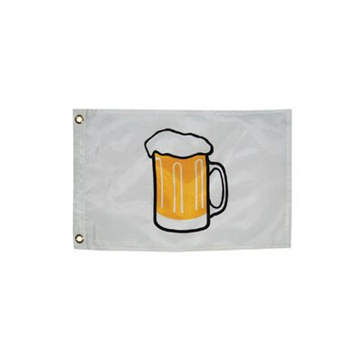 Taylor Made Products Novelty Design Beer Mug Traditional Flag