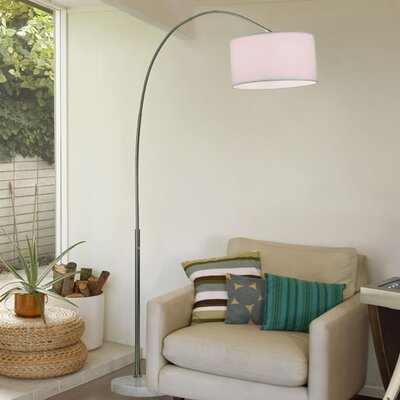 Nova Float Arc Floor Lamp Amp Reviews Wayfair