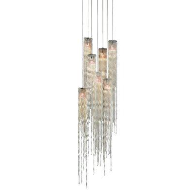 Bead 7 Light Pendant by Nova