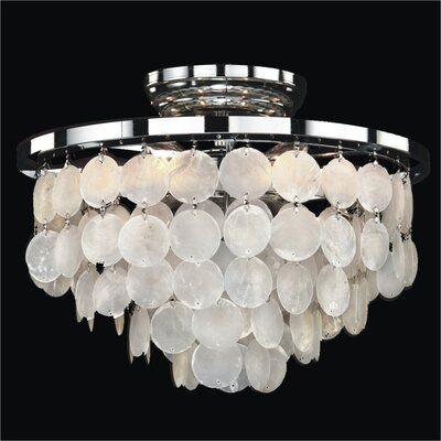 Bayside 6 Light Flush Mount Product Photo