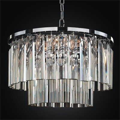 Wind Chime Mini Chandelier Product Photo