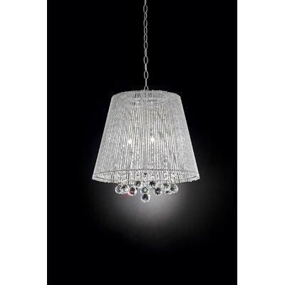 Daydream Crystal 3 Light Pendant by OK Lighting
