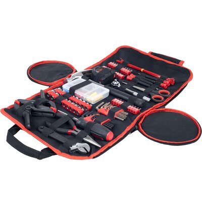 86 Piece Roll Up Tool Kit by Stalwart