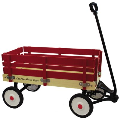 Little Box Wooden Wagon Ride-On by Grand Forward
