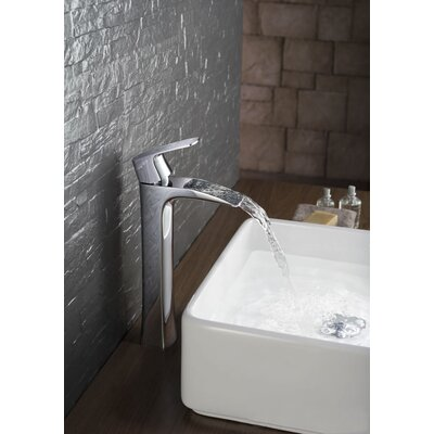 Single Handle Centerset Vessel Sink Faucet Product Photo