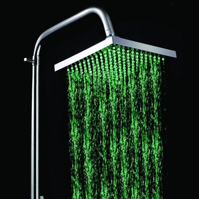LED Rainfall Showerhead Product Photo