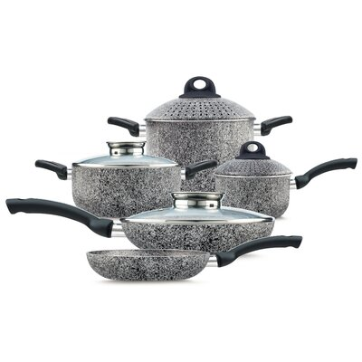 Vesuvius 9-Piece Cookware Set by Pensofal