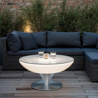 LuminArt Serendipity Coffee Table by Contempo Lights