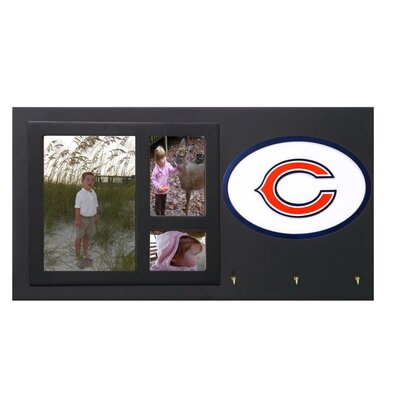 Fan Creations NFL Key Holder with Picture Frames