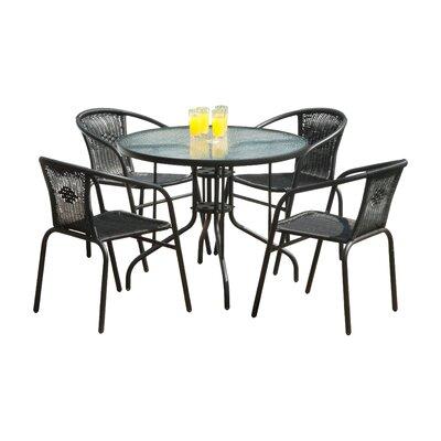 SunTime Outdoor Living Bambi 5 Piece Dining Set & Reviews ... on Suntime Outdoor Living id=51512