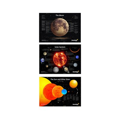 Levenhuk Inc. Space Posters Set