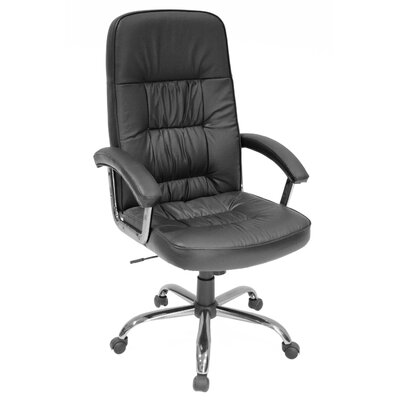 Regency Carrera High-Back Leather with Metal Base Swivel Executive Chair