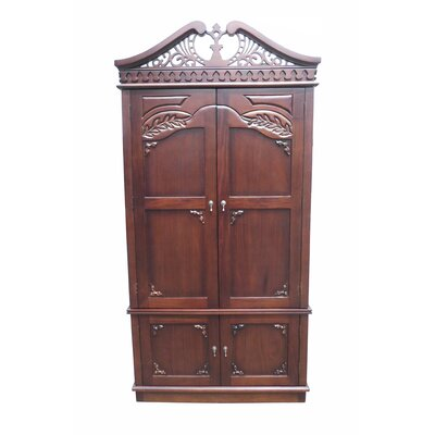 Carved Top Armoire Product Photo