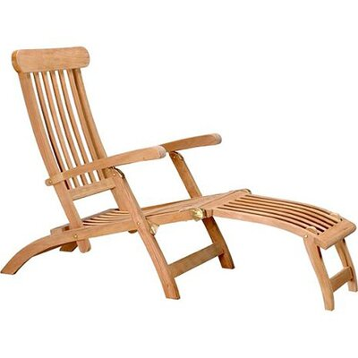 Teak Steamer Lounge Chair by D-Art Collection