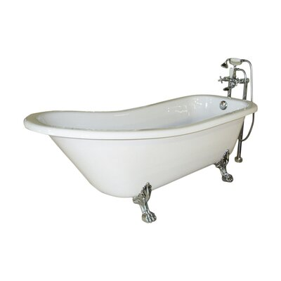 Jade Picadilly Clawfoot Soaking Bathtub
