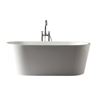 """Kate 67"""" x 31.5"""" Free-Standing Tub Product Photo"""