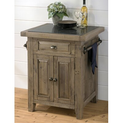 Slater Mill Kitchen Island with Granite Top Product Photo