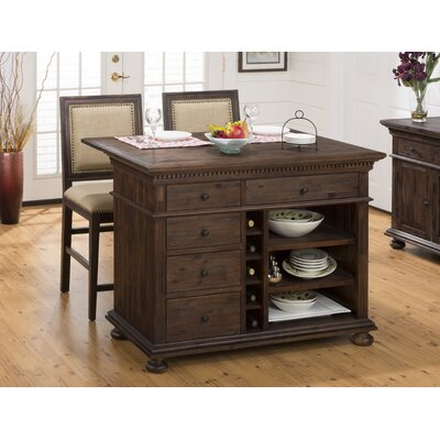 Geneva Hills 3 Piece Kitchen Island Set Product Photo