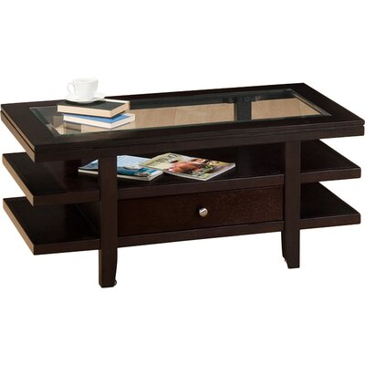 Mobile Double Header Coffee Table by Jofran
